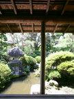 濡れ縁にて日本建築の美しさ「中間域」を