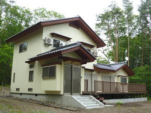 軽井沢 木の別荘