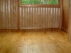 杉材の腰板
