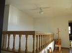 2階広々空間(このスペースが360度ぐるりと回れます。)