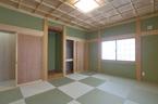 10畳の和室  格天井が素晴らしい